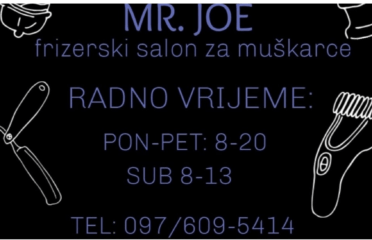 Mr. Joe hairdresser for men / barbershop