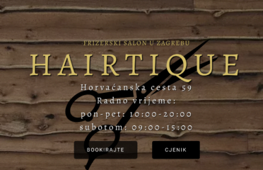 Frizerski salon Hairtique – Jarun